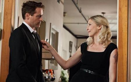 Robert Downey Jr. con Vera Farmiga en