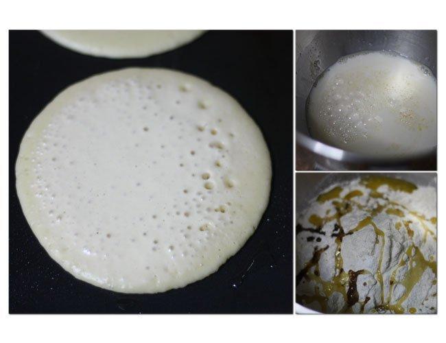 Tortitas americanas sin lactosa