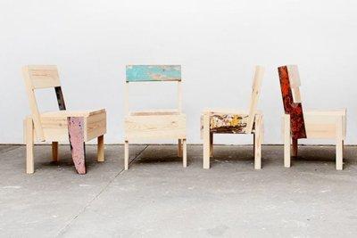 Las sillas solidarias que triunfan en Berlín son de Cucula