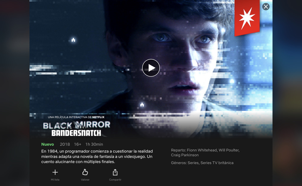 Así funciona Black Mirror Bandersnatch en iOS℗ y por qué no funciona en el <strong>Apple℗</strong> TV «>     </p> <div class=