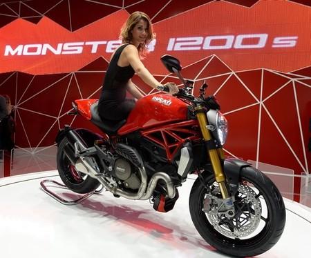 Salón de Milán 2013: Ducati Monster 1200 la más bella