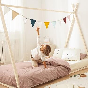 Kave Home estrena muebles y accesorios para los más pequeños y, además de bonita es funcional, sostenible y evolutiva