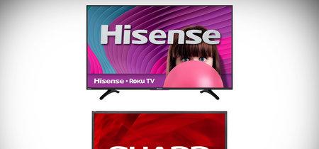 Sharp demanda a HiSense para recuperar sus derechos y volver a vender sus propios televisores