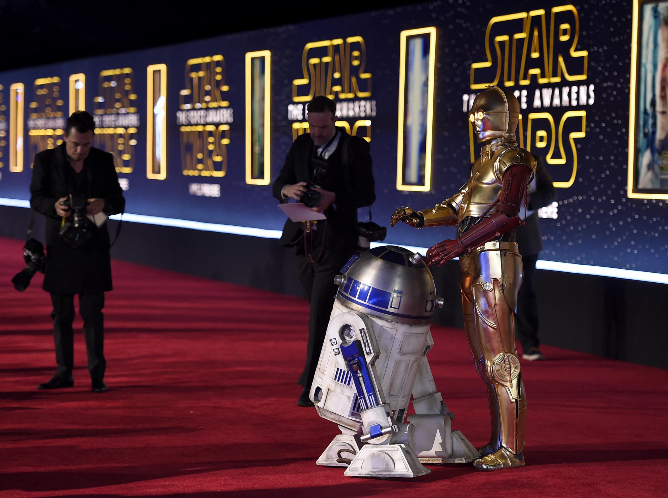 Foto de 'Star Wars: El despertar de la fuerza', fotos de la premiere mundial (14/28)