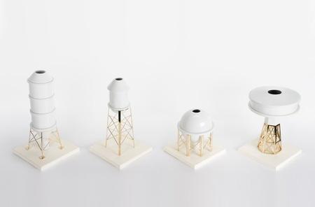 Porcelana con un toque industrial, curioso contraste
