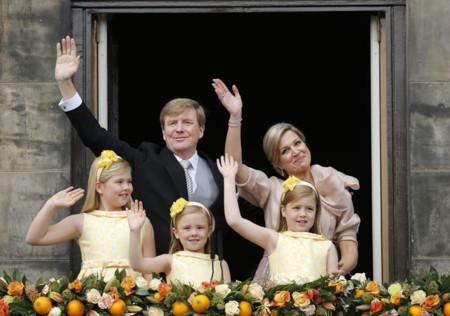 Balcón Holanda nuevo rey abdicación