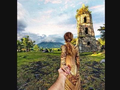 Nos enamoramos del volcán Mayón, uno de los más bonitos del mundo, gracias a los autores de la serie #followme