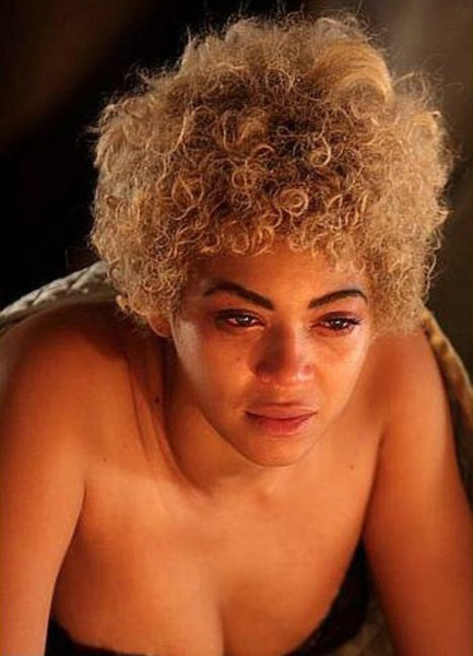 Beyoncé se afea y engorda para su próxima peli