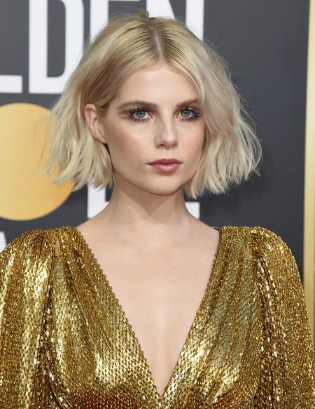 Globos De Oro 2019 Melenas Lucy Boynton