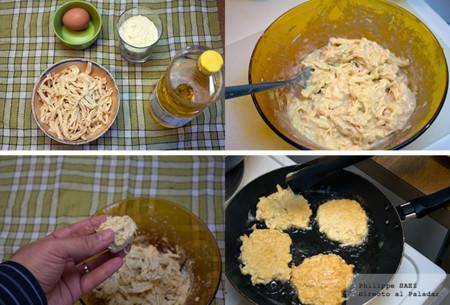 Tortitas de pollo