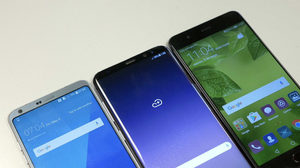 Lg G6 S8 Huawei P10 Plus