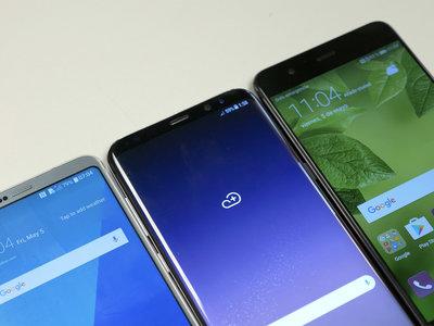 Galaxy S8+ vs LG G6 vs Huawei P10 Plus: el duelo por quién da más para alzarse con el trono Android