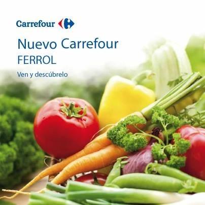 Carrefour Ferrol abre hoy y para las primeras 500 compras ¡hay premio seguro!