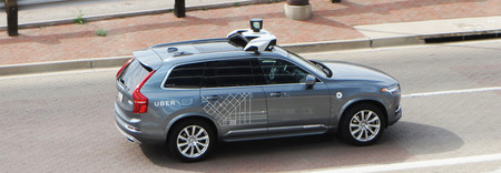 Uber Autonomous Vehicle