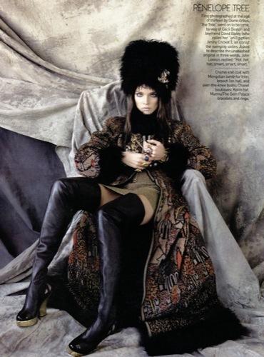 Natalia Vodianova para Vogue US II