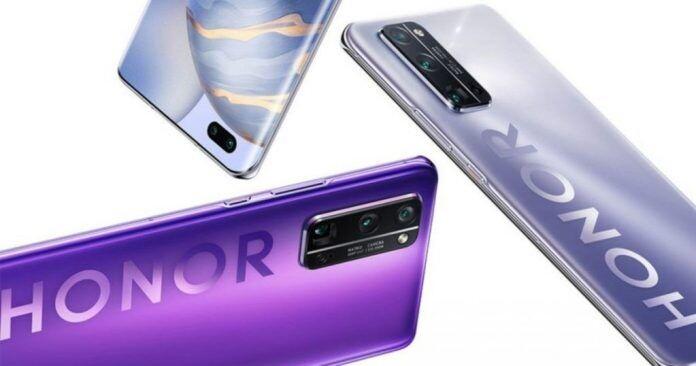 Filtradas las especificaciones del Honor V40, una bestia 5G con pantalla OLED y 120Hz