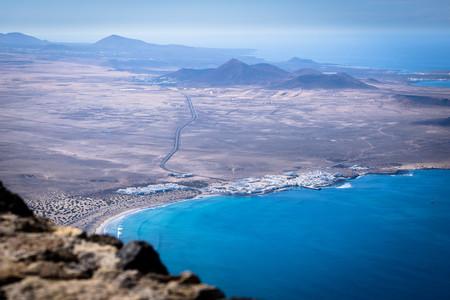 El mirador del Risco de Famara, un balcón al océano en Lanzarote