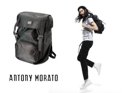 Las tres mochilas del viaje de Antony Morato