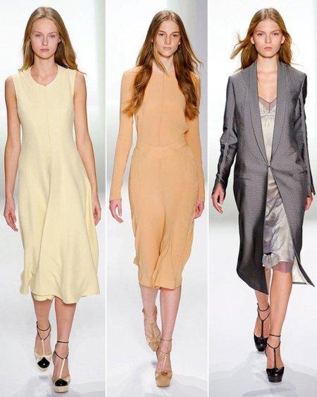 Calvin Klein Tendencias Primavera-Verano 2012