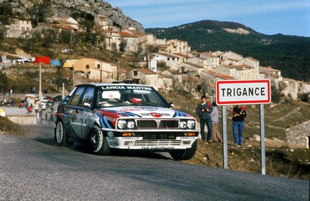 Lancia Delta HF Integrale rallye