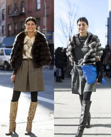 Los 10 mejores looks de calle en la Semana de la moda de Nueva York