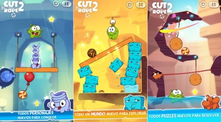 Cut The Rope 2 ya está disponible gratis para Windows Phone