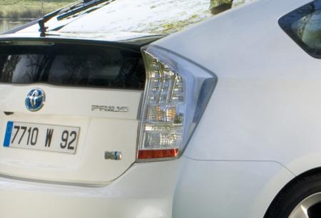 Toyota Prius piloto trasero 2009