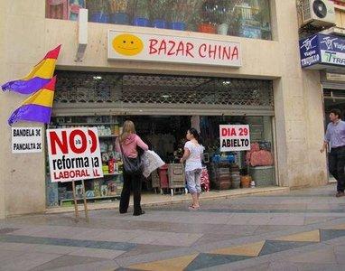 Cómo aprovechar la oferta y la demanda en una huelga general: el montaje de los chinos
