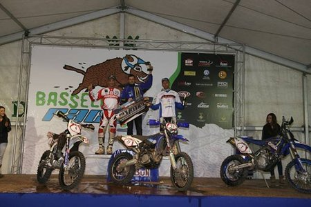 Podium Bassella Race 1 2011