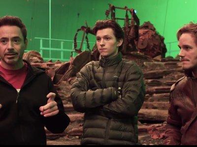 'Avengers: Infinity War', el primer vídeo oficial adelanta el encuentro de Spider-Man y Star-Lord