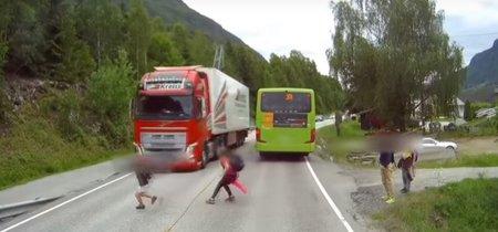 La importancia de un buen sistema de frenado de emergencia, resumida en 40 segundos de vídeo