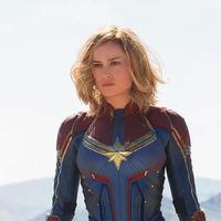 Ya es oficial: a Brie Larson le queda perfecto el traje de Capitana Marvel