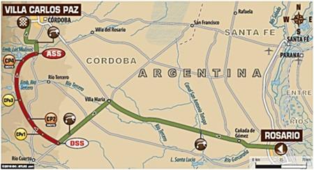 Mapa Etapa1 Dakar2016