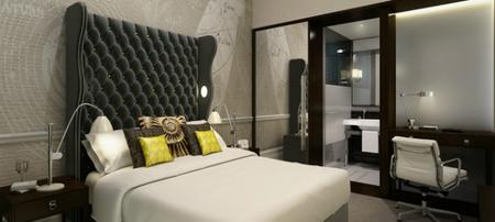 Habitación doble del hotel Ampersand