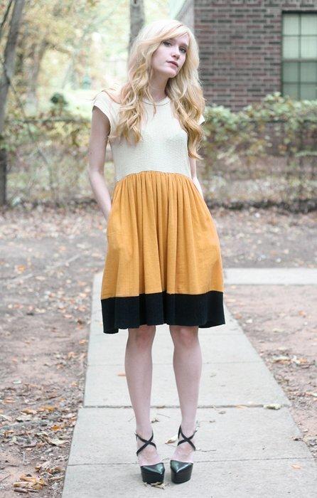 Chloe vestido Moda en la calle