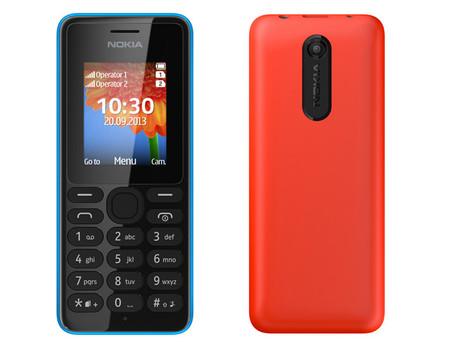 Nokia 108, otro teléfono asequible de los finlandeses