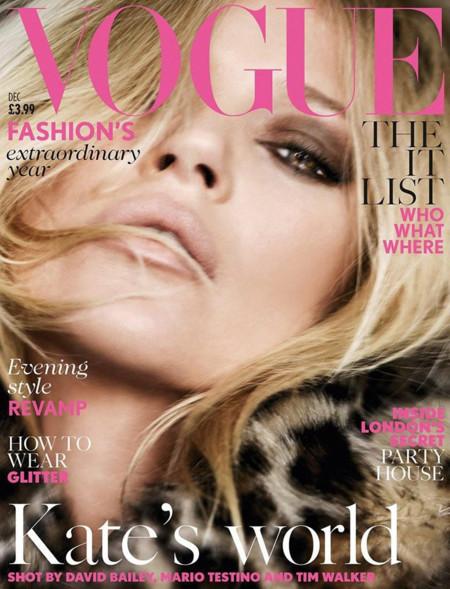 Vogue UK, diciembre de 2014