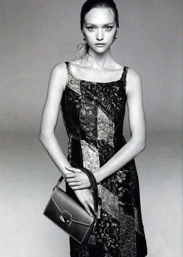 Gemma Ward regresa a Prada a lo grande: ahora en la campaña Primavera-Verano 2015