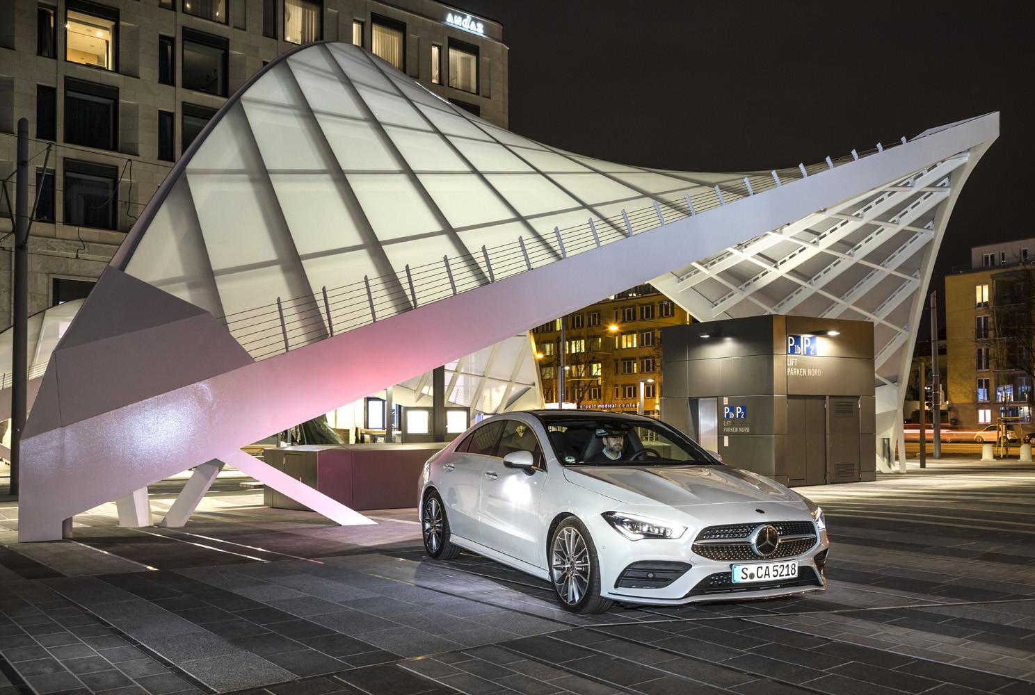 Foto de Mercedes-Benz CLA Coupé 2019, toma de contacto (136/248)