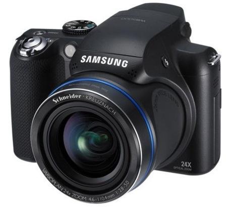 Samsung WB5000 hace oficial su zoom de 24x
