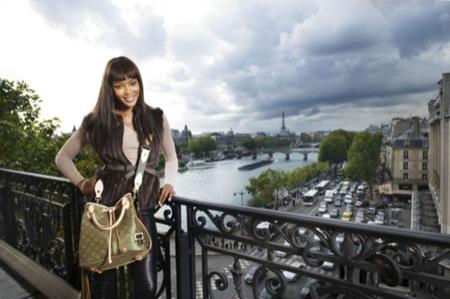 Louis Vuitton y Naomi Campbell: campaña con fines solidarios