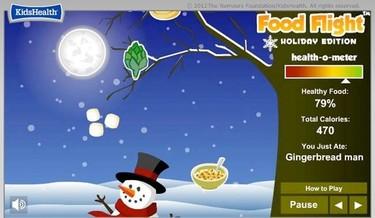 Un juego online sobre alimentación saludable