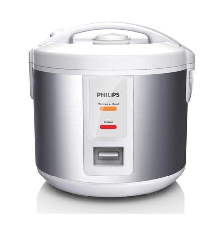 Por 44,91 euros tenemos la  arrocera Philips Daily Collection HD3011/08 de un litro en Amazon