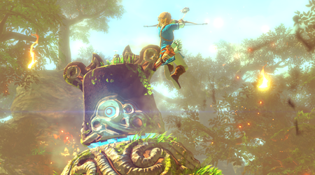 Zelda Wii U Link Jump