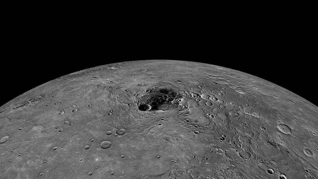 Mercurio, que posee algunas de las temperaturas mas altas del Sistema Solar, además produce hielo