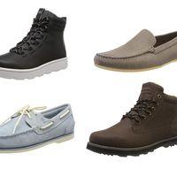 Chollos en tallas sueltas de botas, zapatos y mocasines Quiksilver, Clarks o Timberland por menos de 30 euros en Amazon