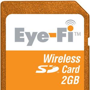 Eye-Fi, almacenamiento y Wi-Fi en una tarjeta SD