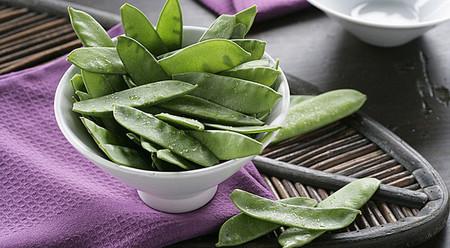 Tirabeques, esenciales en la cocina oriental