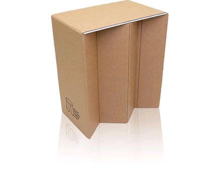Dolmen, asiento portatil de cartón