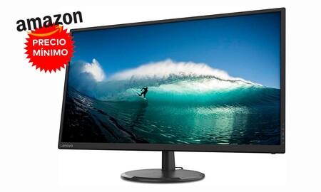 El monitor más vendido del momento en Amazon tiene una gran diagonal de 32 pulgadas y resolución 2K, y está a precio mínimo: Lenovo C32q-20 por 199,99 euros